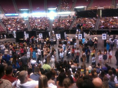 American Idol Audition Tables