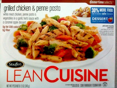 Real kato blog today 39 s frozen meal lean cuisine grilled for Are lean cuisine meals healthy